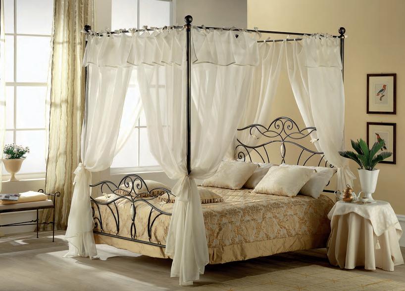 Camere Matrimoniali Con Letto A Baldacchino ~ Design casa creativa e mobili ispiratori